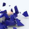 Shattering an object in Cinema 4D