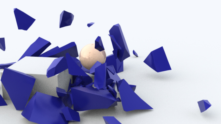 Shattering an object in Cinema 4D « Jadan Dot Net
